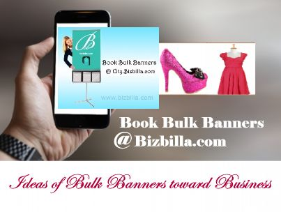 Ideas Of Bulk #Banners Towards Business Bulk Banners is known as Web banner ads in a form of advertising online that delivered by ad server..  Read more from #Bizbilla http://www.bizbilla.com/articles/Ideas-of-Bulk-Banners-towards-Business-1487.html