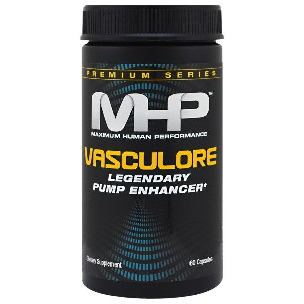 Maximum Human Performance, LLC, Premium Series, Vasculore, Legendary Pump Enhancer, 60 Capsules