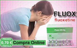 Come l'antidepressivo Fluoxetina Prozac fa dimagrire?