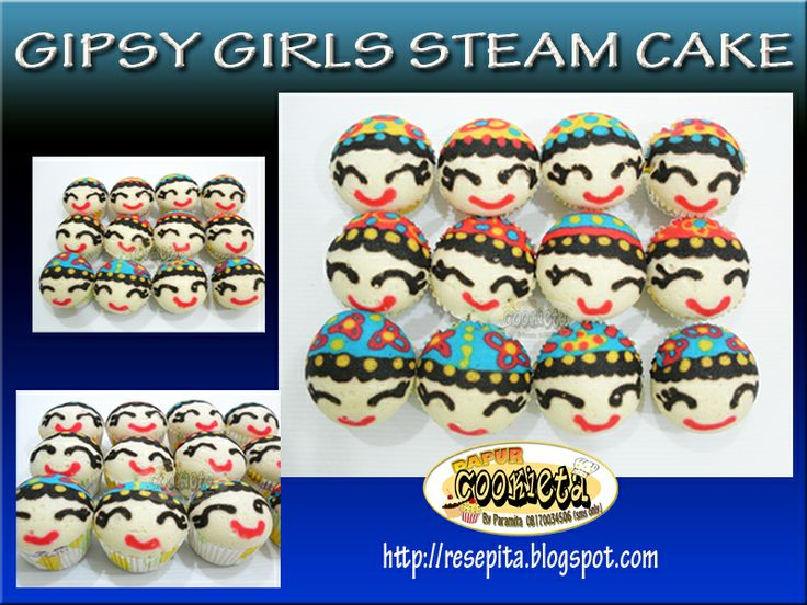 Gypsy Girls Fancy Steam Cake