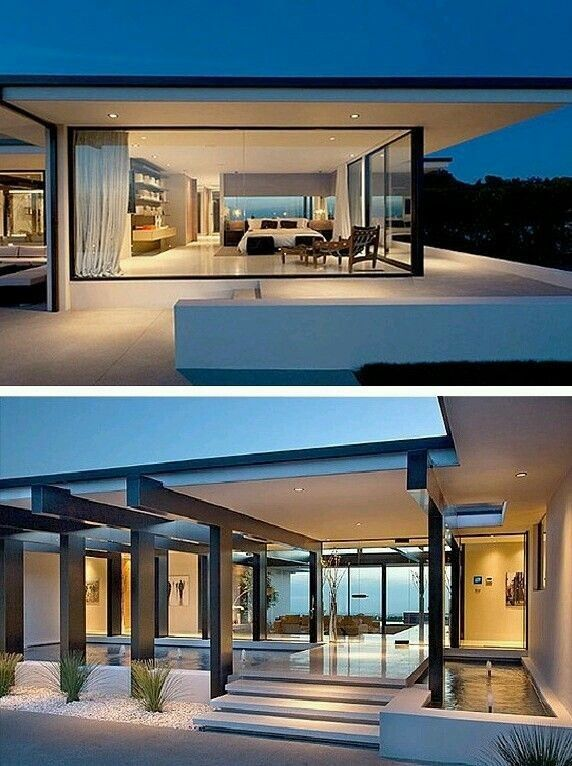 10 Awesome Glass House Plans Case Di Lusso Casa Di Lusso Case Di Design Modern house plan glass