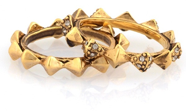House of Harlow Spike Stackable Rings #houseofharlow #downtown: Harlow 1960, 1960 Spike, Spikes, Spike Stack, Rings, House