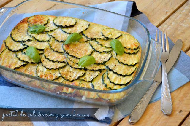 Gastro Andalusi: Pastel de calabacín con queso fresco batido 0%