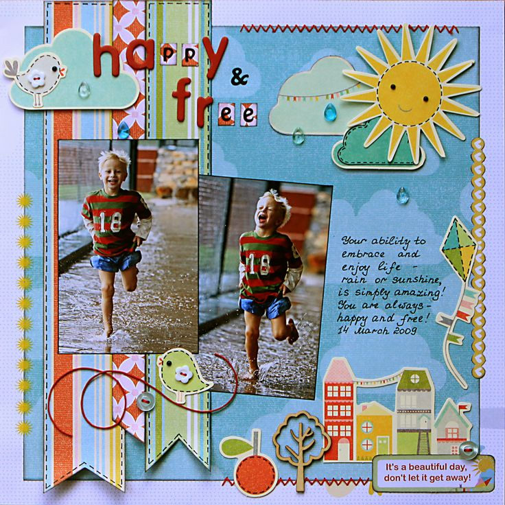 Always -- Happy and Free - Scrapbook.com