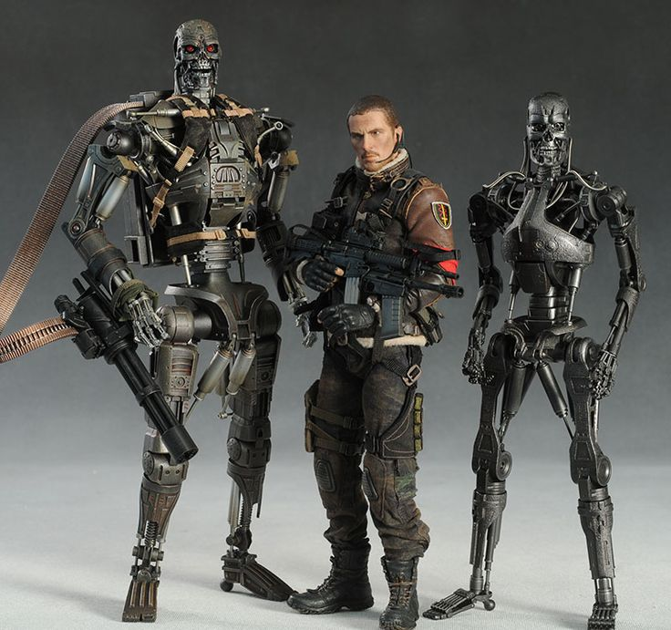 John Connor T-600 Terminator Salvation sixth scale action figure by Hot Toys