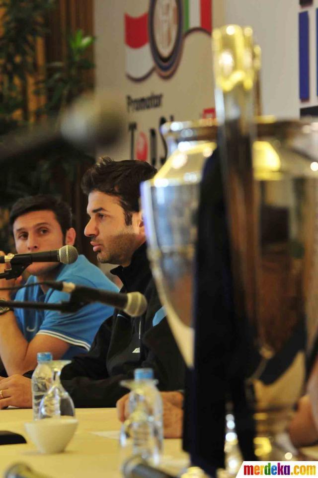 Inter Milan dalam tournya akan melawan dua tim Indonesia Selection dan Indonesia muda pada tgl 24 dan 26 Mei.