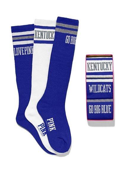 university of ky socks for women | University of Kentucky Sock Gift Set - Victoria's Secret PINK ...