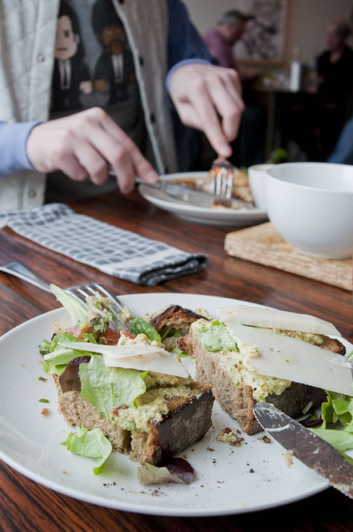 Pernikkel, Groningen. Breakfast, lunch dinner.