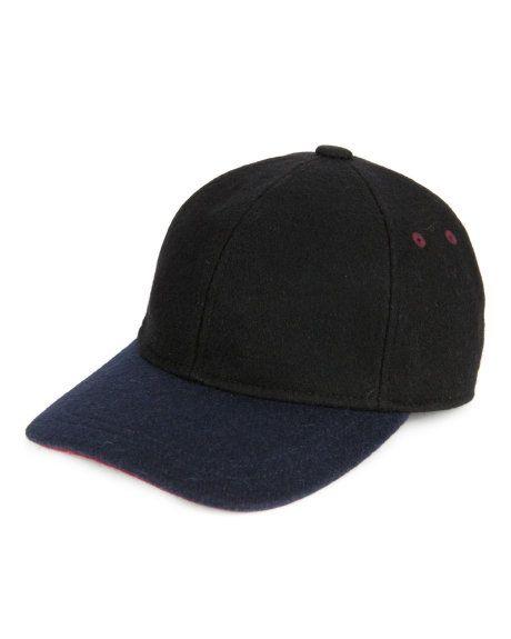 Contrast peak baseball hat - Black | Hats & Scarves | Ted Baker