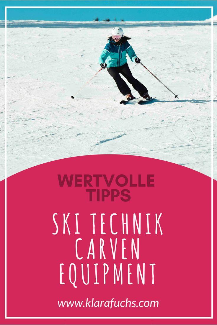 Ski Tipps für Anfänger und Technik Tipps / Carven - KlaraFuchs.com