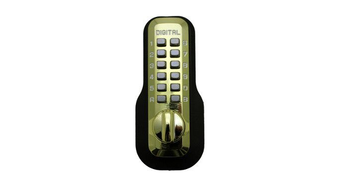 Lockey M210 Mechanical Keyless Deadbolt