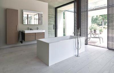 Die schönsten Ideen für ein geradliniges Badezimmer