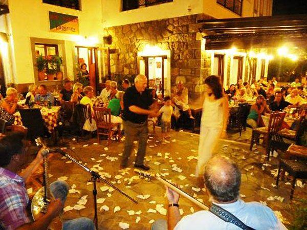 Sarandos Restaurant, Anaxos, Lesvos