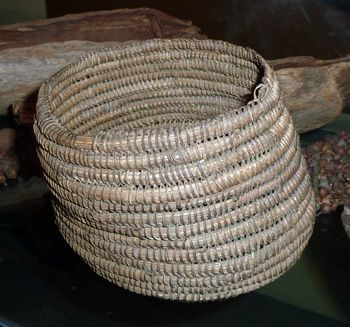 coiled basket Aboriginal