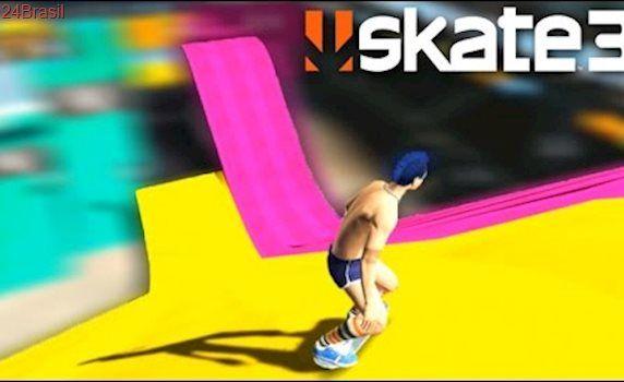 SKATE 3 (Multiplayer) A RAMPA dos ALVOS!!! (Skate Share Pack)