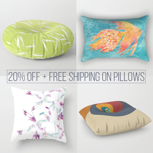 Today- Discount on pillows