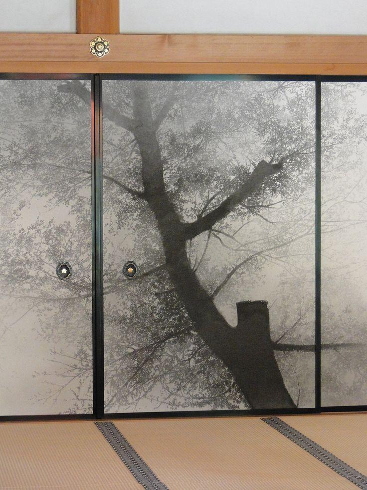 Chishaku-in, Kyoto, Japan 智積院の襖絵 京都