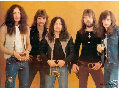 Uriah Heep  back then