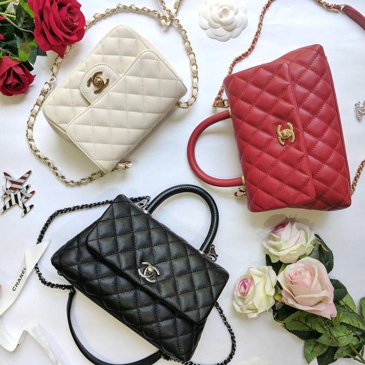 Chanel Coco handle mini / Mini Flap Ivory Wishlist #1 #3