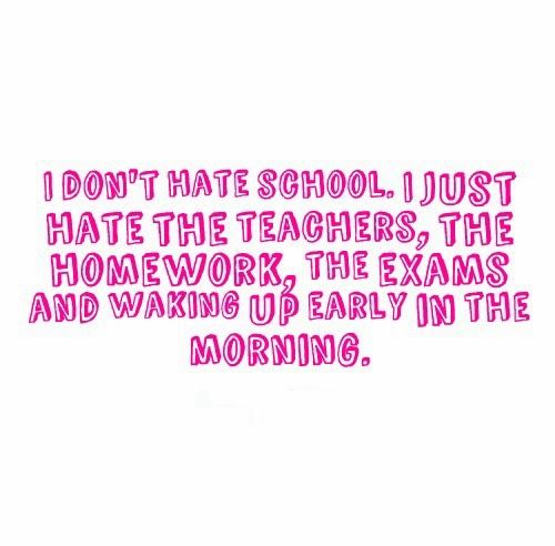 Funny Quotes About School: Best 25+ Homework Quotes Ideas On Pinterest