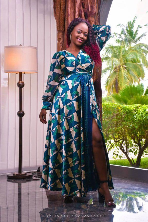 Robe Soie Imprimee Wax Africabaie Com En 2020 Robes De Soie Imprime Mode Africaine Robe Idees Vestimentaires