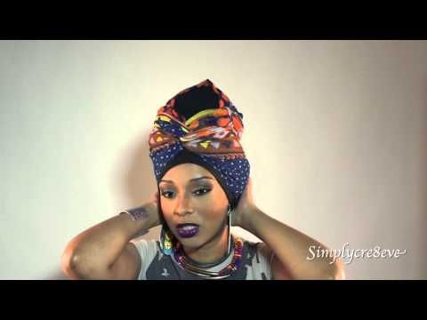 Natural Hairstyles: Head wrap styles to rock when you have braids – YouTube   – Zamunda Royalty