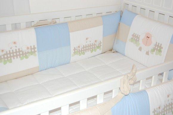 Kit Berço para decorar quarto de bebê7