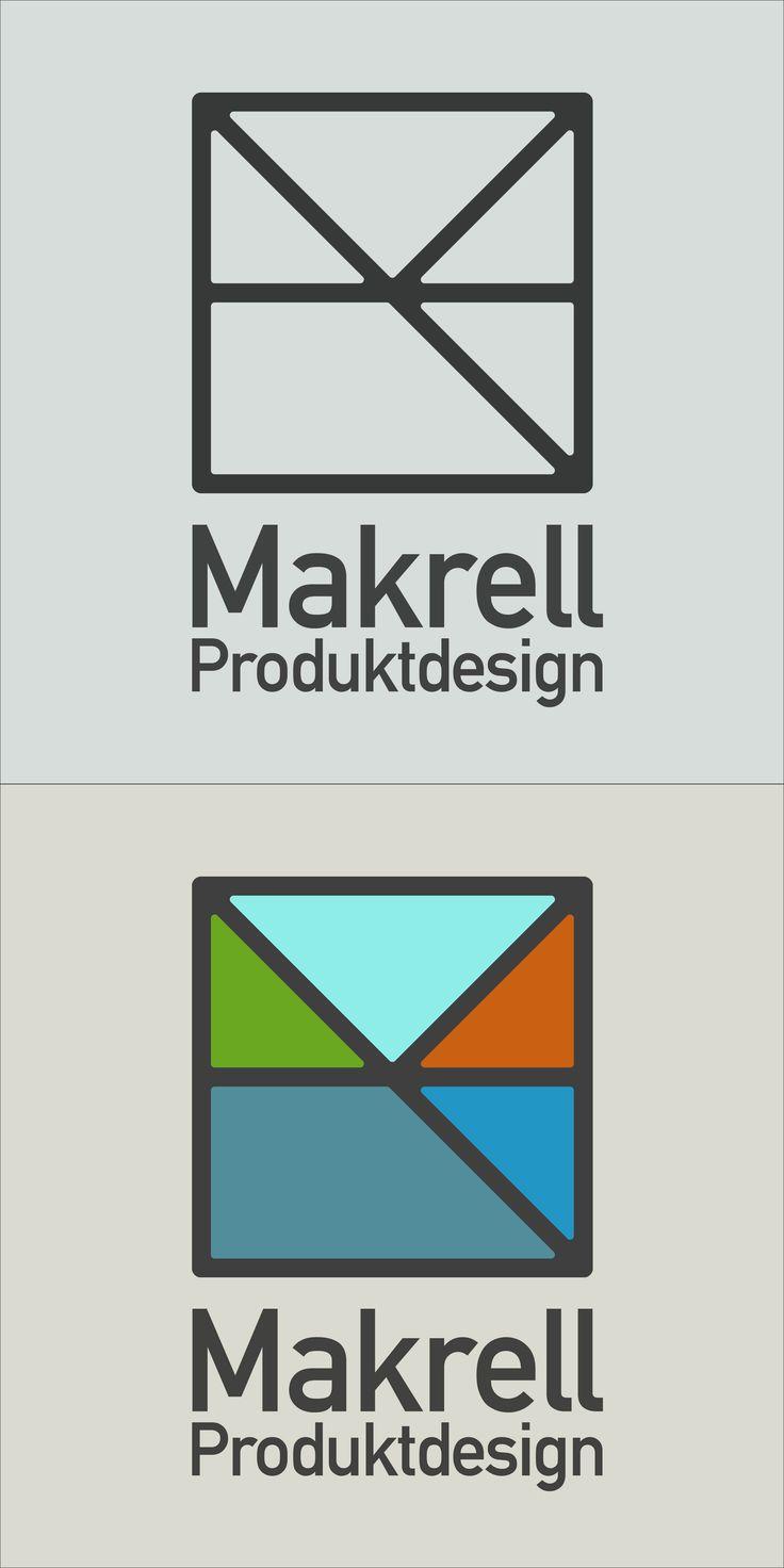 Makrell Produktdesign logo by August Lundberg