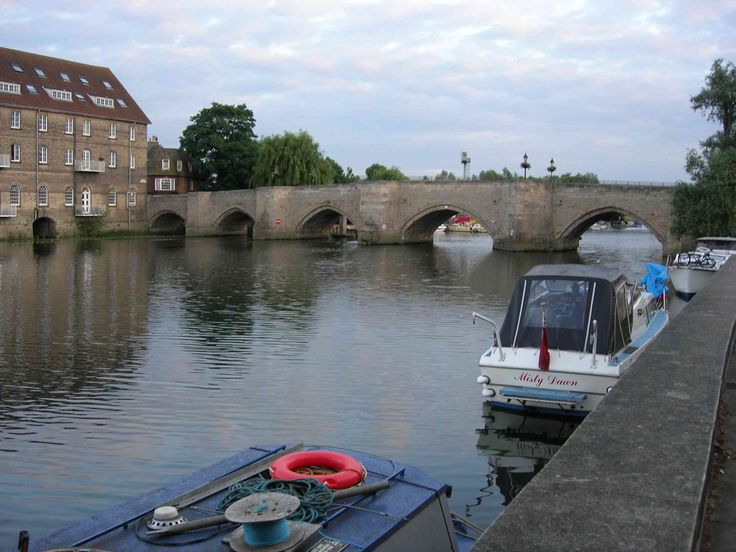 Old Bridge in Huntingdon, England.  We lived about 5 minutes away.