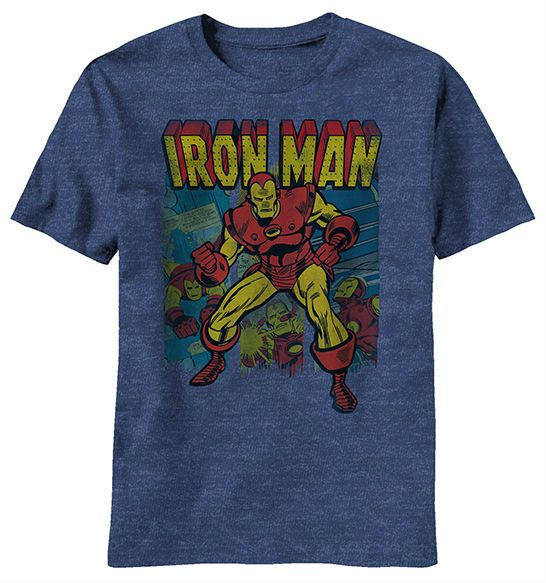Retro Iron Man Shirt