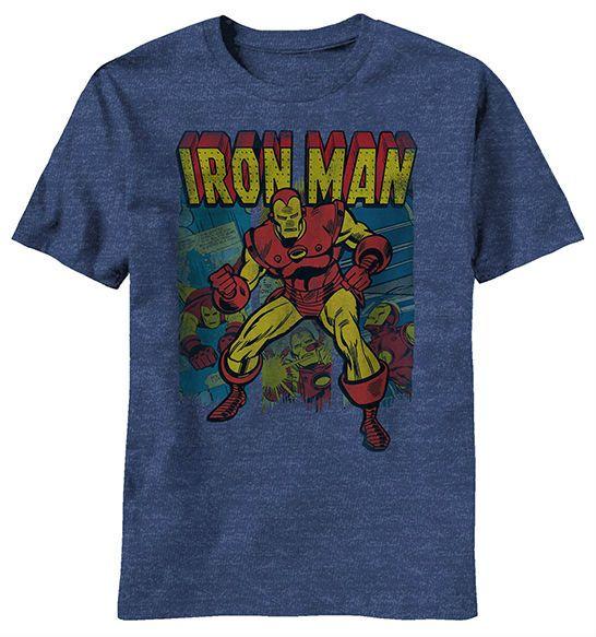 Retro iron man shirt man shirt iron shirt and iron man for Best no iron shirts