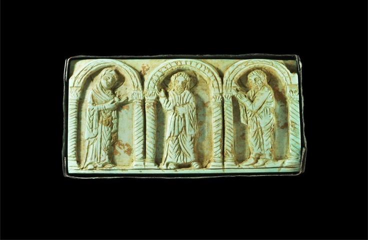 Relieve en marfil,Bizantino,siglo X-XII  Coleccion privada