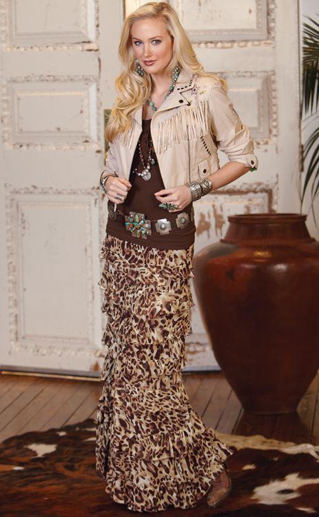 Leopard Princess Skirt.