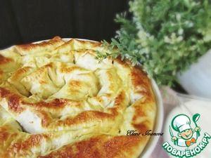 Закусочный лаваш с фасолью и курицей