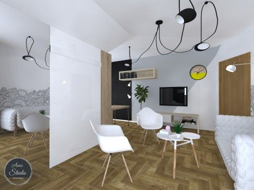 POKÓJ NASTOLATKI Ano Studio - Architekt Wnętrz - Projektant wnętrz - projekty mieszkań, domów, przestrzeni użyteczności publicznej. Mińsk Mazowiecki , Warszawa i okolice.