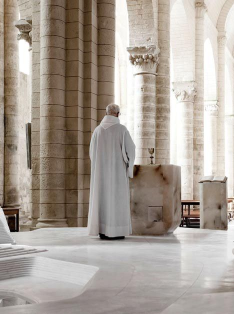 St. Hilaire church in Melle by Mathieu Lehanneur