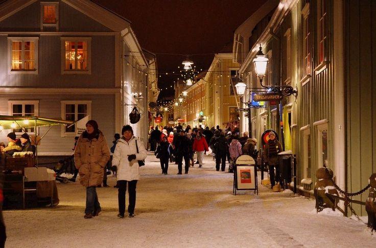 Christmas market Eksjö, Sweden