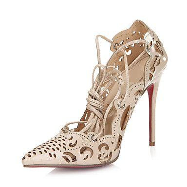 Women's+Stiletto+Heel+Pointed+Toe+Pumps+Shoes+–+USD+$+64.99