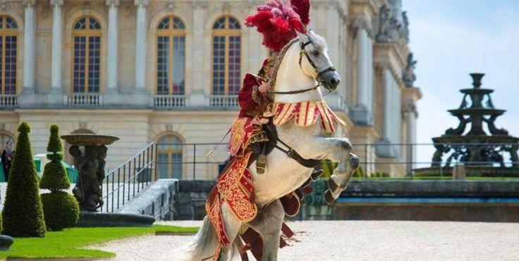 Rapunzel Original Story | Le grand carrousel royal - Spectacle equestre à Versailles-- France 2 ...