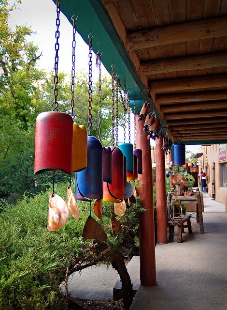 Taos plaza.  I wish that some day I will be able to visit Taos, NM You should drop everything and go!  Find a B, stay 2 nights, walk around, breathe in the scenery.  No regrets!