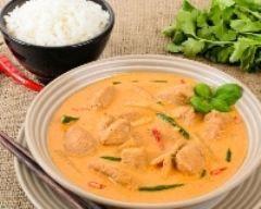 curry thai au poulet