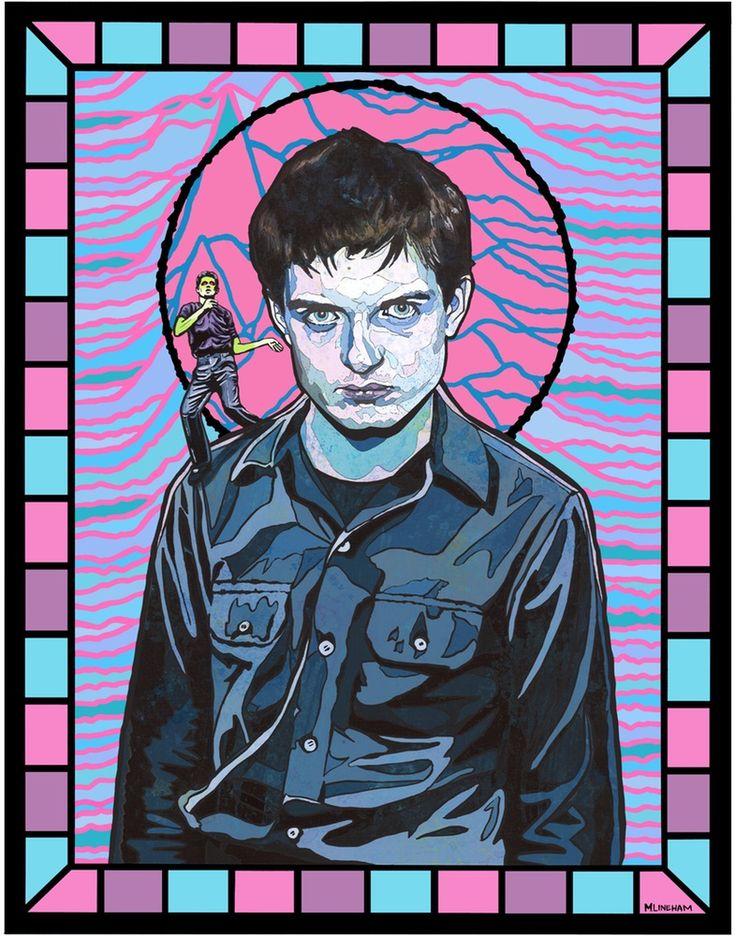 Image of Saint Ian Curtis (Joy Division)