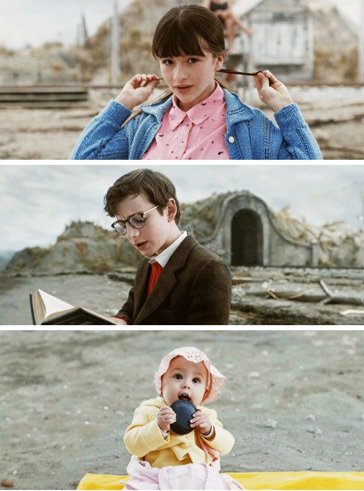 Violet, Klaus, and Sunny from Netflix's adaptation of Lemony Snicket's A Series of Unfortunate Events.