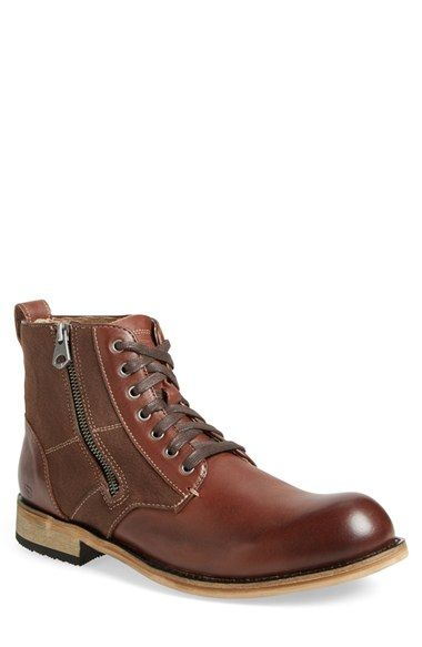 ANDREW MARC 'Forest' Plain Toe Boot (Men). #andrewmarc #shoes #boots