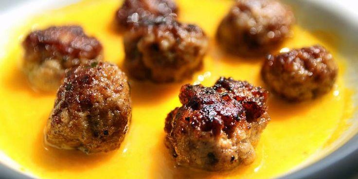 OPPSKRIFT PÅ ALBONDIGAS: Spanske kjøttboller i safransaus.