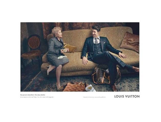 MICHAEL PHELPS FOR LOUIS VUITTON CAMPAIGN IMAGES