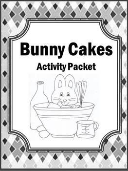 This Bunny Cakes resource which contains over 40 pages of activities and printable black/white pages to help your students learn essential skills while having so much fun! These will greatly enhance your lesson plans!