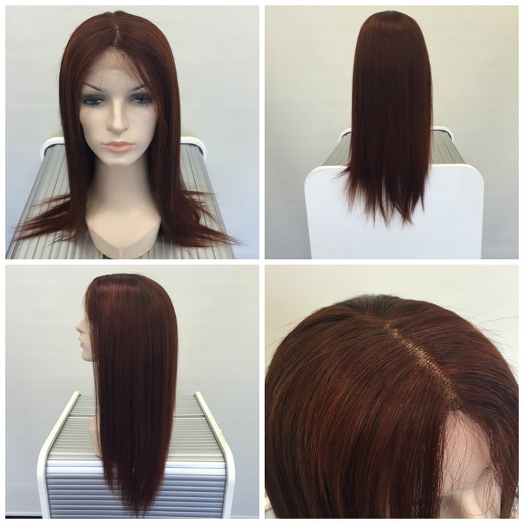 This human hair lace front wig is what we like to call an Auburn Dream. Created for a lovely woman who was just diagnosed with cancer, she will be stepping out in style no matter what she is going through.   #humanhairwigs #chemotherapy #hairloss #humanhairlacefrontwig #naturalwigs #hairlossvancouver #wigsvancouver