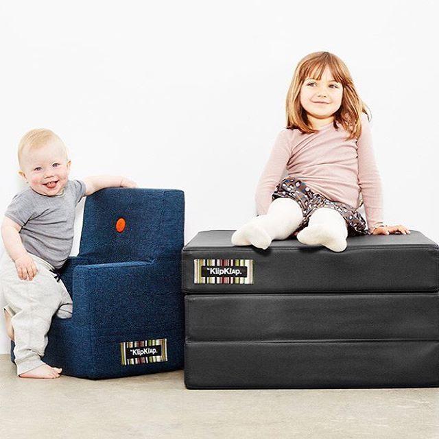 NYHED!!  Vi er super glade for at de fine børnestole og smarte foldemadrasser fra @byklipklap nu er online på shoppen  Det er super lækkert design og kvalitet!  God lørdag   #nyhed #byklipklap #lækkert #design #flottefarver #købpåshoppen #børn