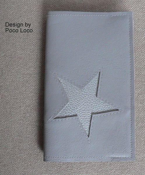Taschenkalender Leder UNIKAT Poco Loco Design von Poco Loco auf DaWanda.com